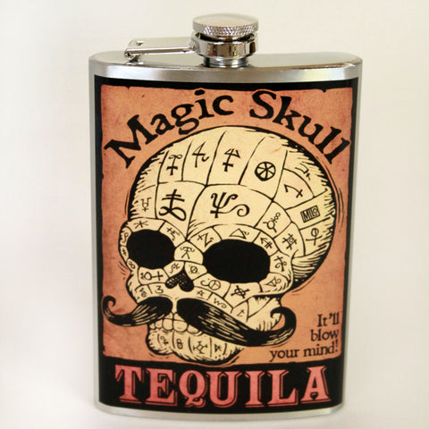 Magic Skull Flask - Marry Me Wedding Accessories & Gifts