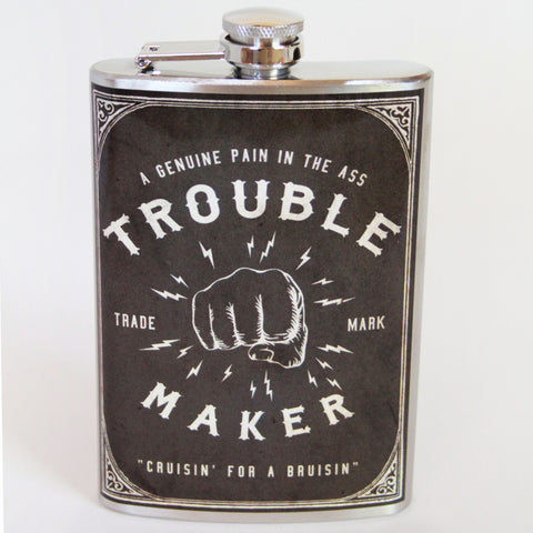 Trouble Maker Flask