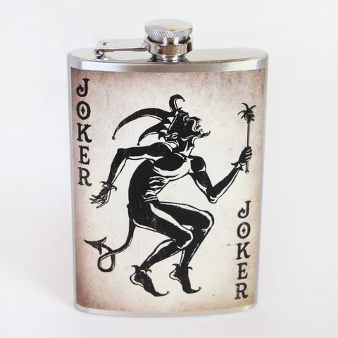 The Joker Flask