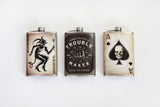 Ace of Spades Flask - Marry Me Wedding Accessories & Gifts