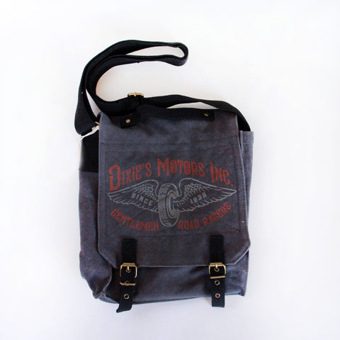 Vintage Field Bag - Dixie Motors