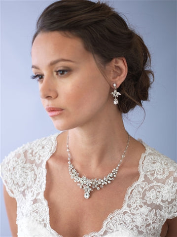 Nicolette Swarovski Crystal Jewelry Set - Marry Me Wedding Accessories & Gifts