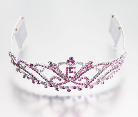 Quince Anos Tiara - Pink - Marry Me Wedding Accessories & Gifts