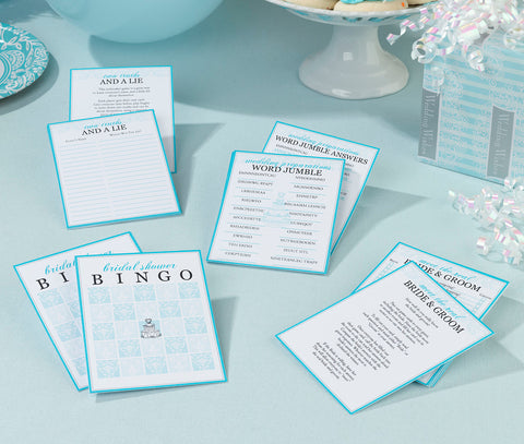 Bridal Shower Game Packet - Marry Me Wedding Accessories & Gifts