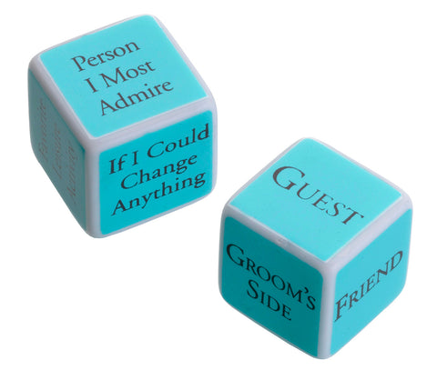Bridal Shower Game Dice - Marry Me Wedding Accessories & Gifts