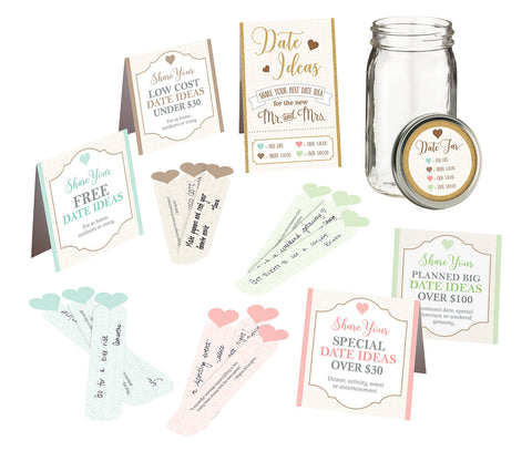 Date Suggestion Kit - Marry Me Wedding Accessories & Gifts