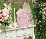Set of 5 Pink & Gold Bridal Shower Signs