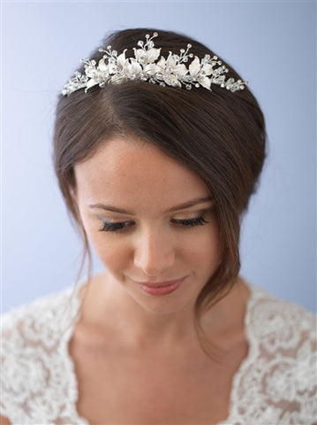 Juliet Floral Tiara - Marry Me Wedding Accessories & Gifts