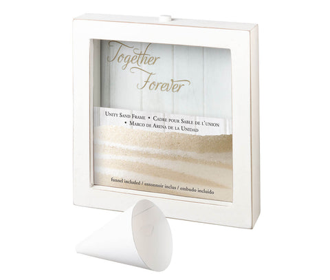 Small Unity Sand Ceremony Frame & Sand Set - Marry Me Wedding Accessories & Gifts