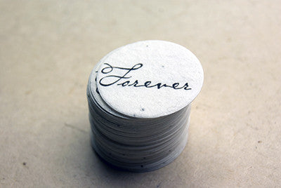 Seeded Paper Circles -Small - Marry Me Wedding Accessories & Gifts