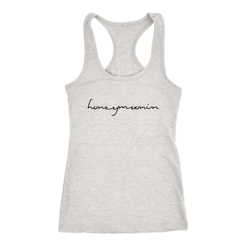 Honeymoonin Racerback Tank