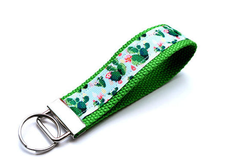 Keychain Wristlet - Cactus - Marry Me Wedding Accessories & Gifts