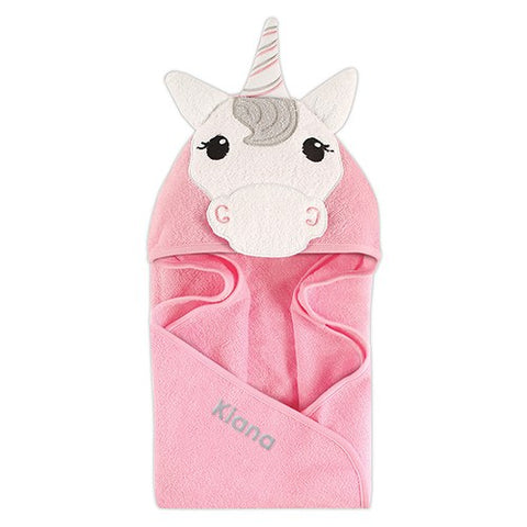 Animal Face Hooded Towel - Unicorn - Marry Me Wedding Accessories & Gifts