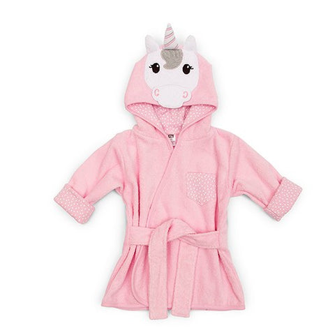 Animal Face Hooded Bathrobe  - Elephant, Unicorn, or Duck - Marry Me Wedding Accessories & Gifts
