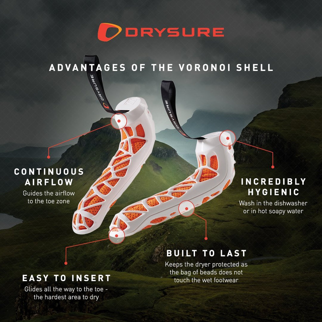 Black & Orange - Drysure Active - DRYSURE