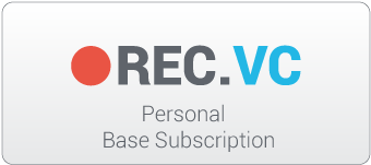 REC.VC 12 month personal base subscription medium