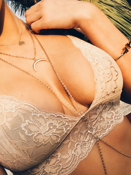 Nude Lace Bralet