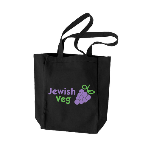 'Another Meat-Free Grocery Bag' Organic Cotton Tote
