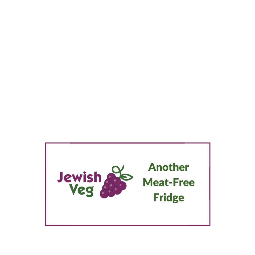 'Another Meat-Free Fridge' Refrigerator Magnet