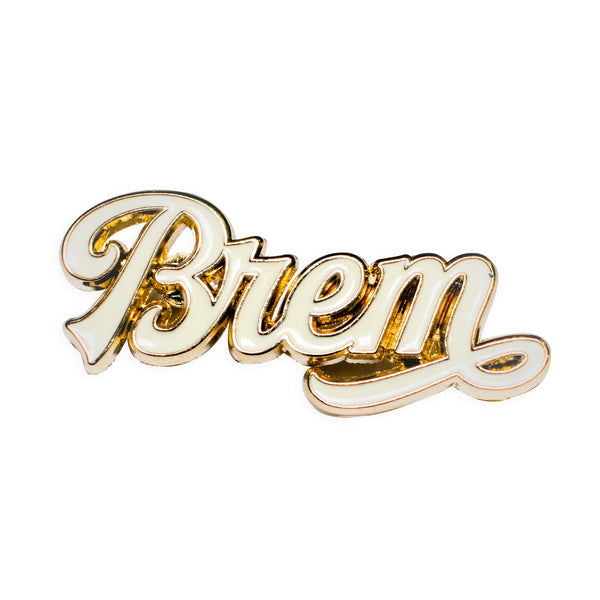 "Grounded ""BREM"" Enamel Pin"