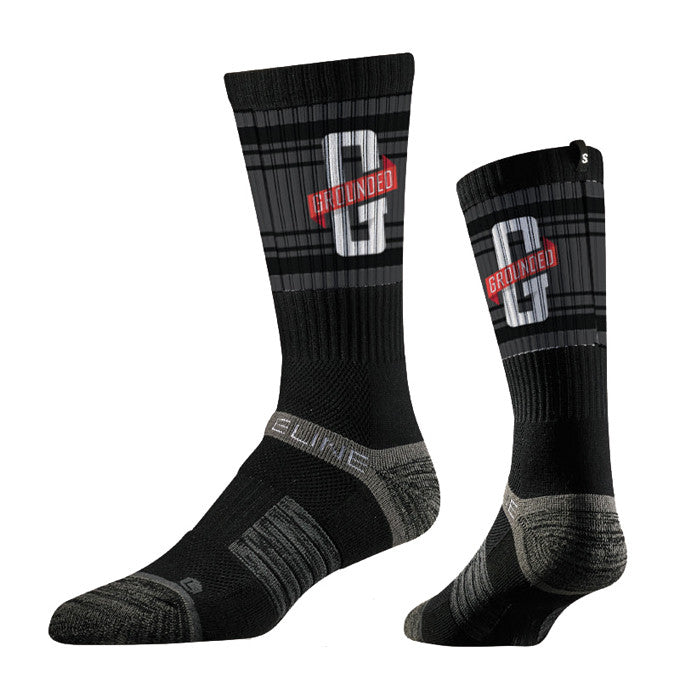 Grounded x Strideline Crew Socks