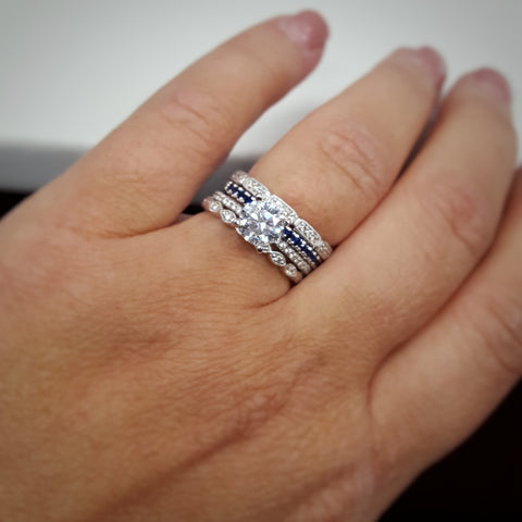 b3ee4bb3824ae Stackable Rings   Hottest Jewelry Trends of 2018 – Goldsmith Jewelry ...