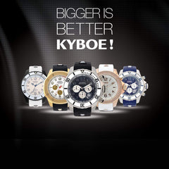 Kyboe Watches at Goldsmith Jewelry Shoppe