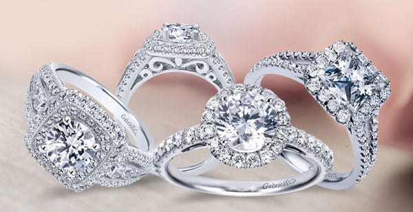 Gabriel & Co. Engagement Ring Goldsmith Jewelry Shoppe