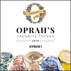 Kyboe Watches Oprah's Favorite Things