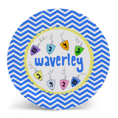 Hanukkah Kids Plate by Mayfly and Junebug Designs
