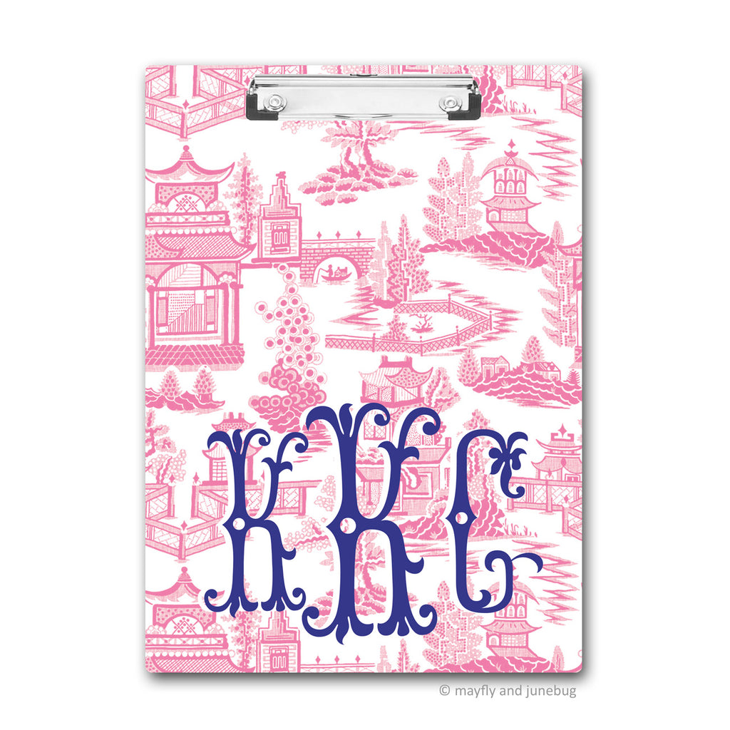 Chinoiserie Clipboard