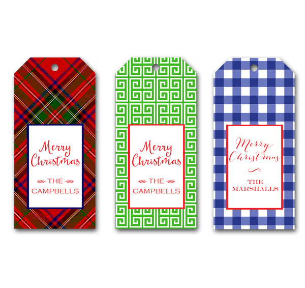Holiday Gift Tags by Mayfly and Junebug Designs