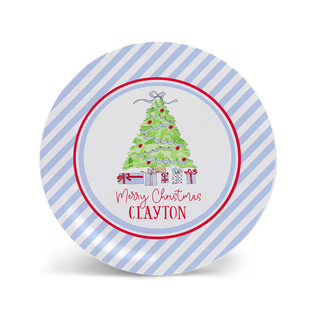 christmas plate kids melamine child plate kid plate holiday gift toddler baby