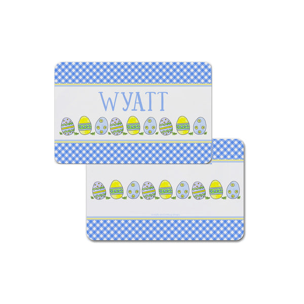 Easter Eggs Personalized Placemat Place mat for Kids