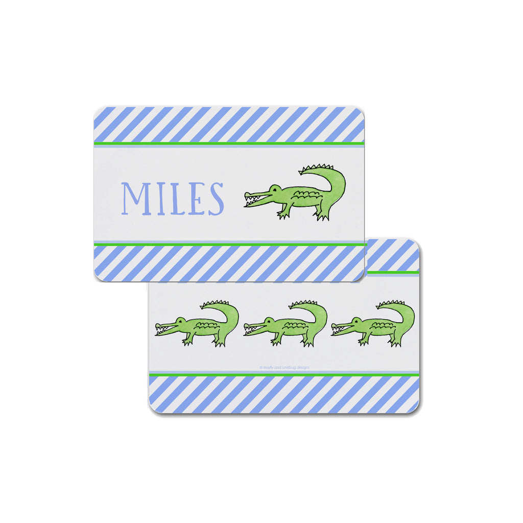 Alligator Kids Placemat