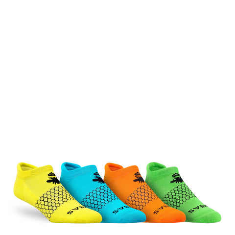 Men's Brights Ankle Four Pack