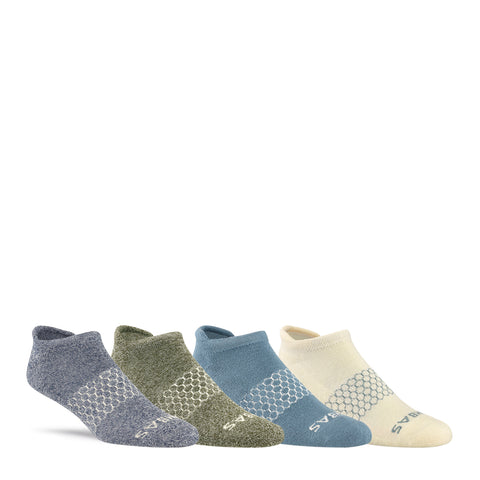 Men's Spring Shades Ankle Four-Pack