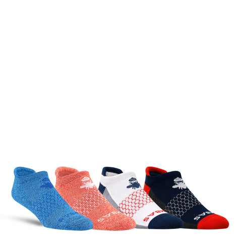 The July 4th Men's Ankle Four-Pack