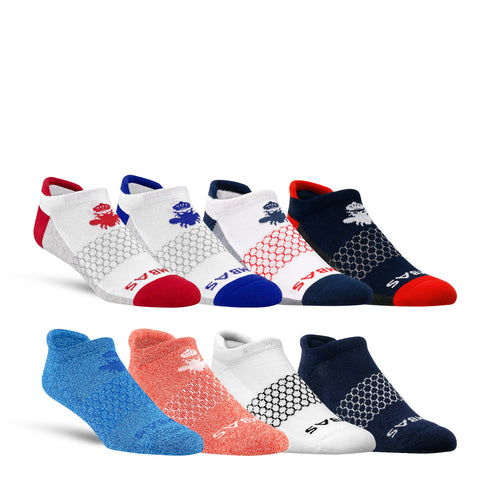 The July 4th Men's Ankle Eight-Pack
