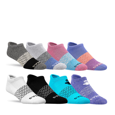 Women's Mixed Marls Ankle Eight-Pack