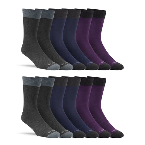 Men's Dress Solids Twelve-Pack