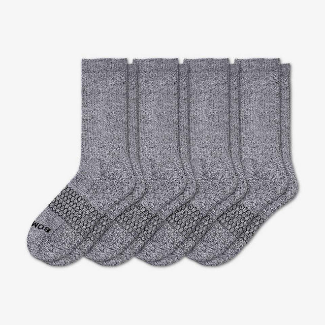 marled-light-charcoal Men's Classic Marls Four-Pack