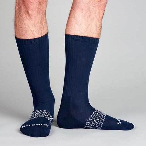 Men's Solids Calf Three Pack