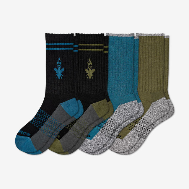 mixed-dark Men's Rich Colors Four-Pack