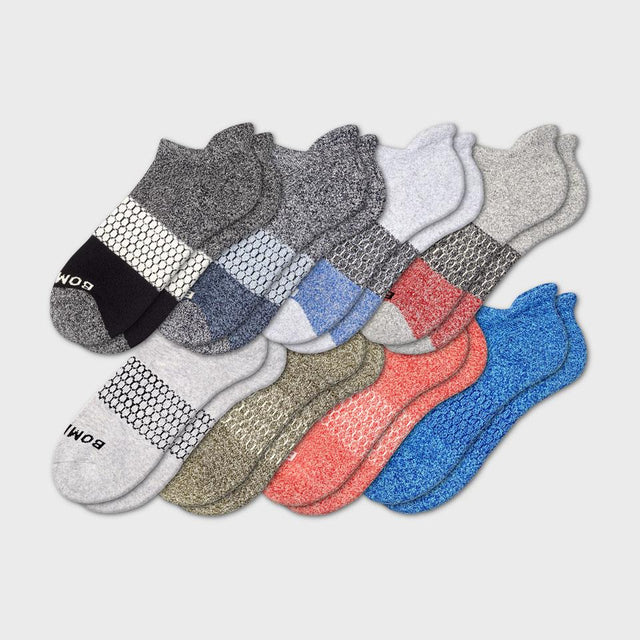 mixed Men's Mixed Marls Ankle Eight-Pack