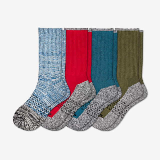 mixed-primary Men's Rich Colors Four-Pack