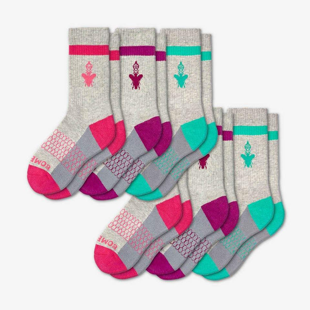 pink-purple-teal Youth Originals Calf Six-Pack