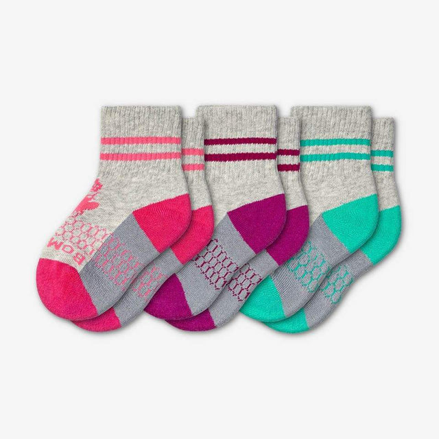 pink-purple-teal Toddler 3-Pack