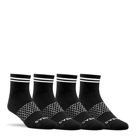 Men's Striped Quarters One-Color Four Pack