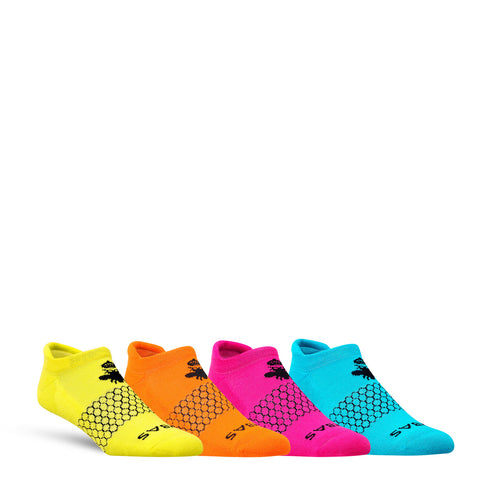 Women's Brights Ankle Four Pack